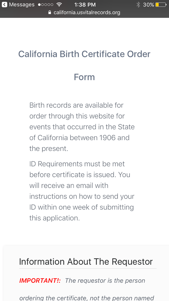 Birth certification and paternity test employment hiring firing img36111g xflitez Gallery