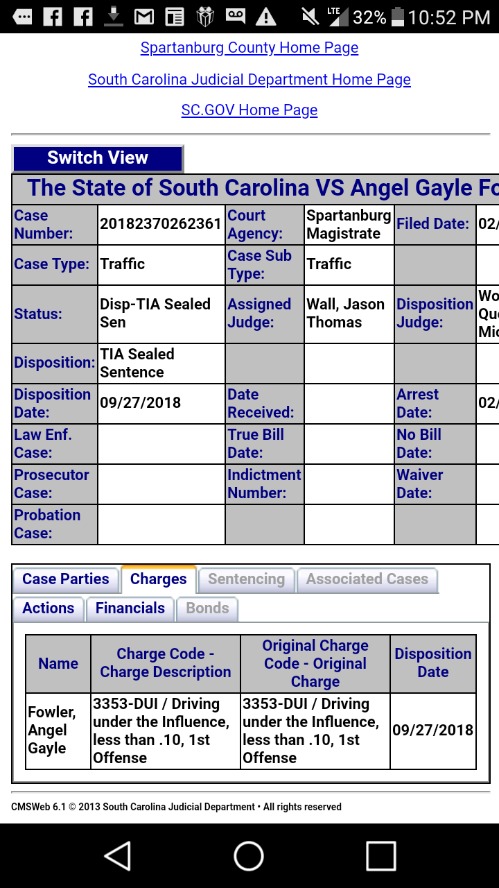 TIA Sealed Sentence - After Sentencing - FindLaw Answers